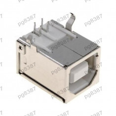Conector USB B, aurit, TE Conectivity 292304-1 - 004365