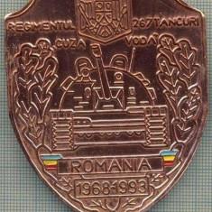 ATAM2001 MEDALIE 114 - REGIMENTUL 267 TANCURI - CUZA VODA - ROMANIA - 1968-1993 - GALATI ?-starea care se vede