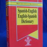 DICTIONAR SPANIOL-ENGLEZ / ENGLEZ-SPANIOL ( SPANISH-ENGLISH / ENGLISH-SPANISH DICTIONARY ) - BROCKHAMPTON REFERENCE - LONDON - 1995