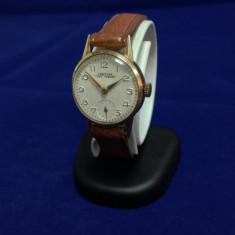 Ceas de aur Certina Kurt Freres (0068) - Ceas dama Certina, Elegant, Mecanic-Manual, Piele, Analog