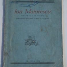 ION MAIORESCU - REVISTA ELEVILOR COLEGIULUI NATIONAL