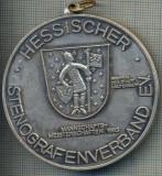 ATAM2001 MEDALIE 139 -ASOCIATIA NATIONALA PENTRU STENOGRAFIE PROCESARE TEXT, COMUNICARE BIROU - HESSISCHER STENOGRAFENVERBAND-starea care se vede
