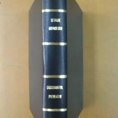 Eftimie Antonescu Concordatul preventiv 2 volume legate impreuna Bucuresti 1932 - Carte Drept comercial