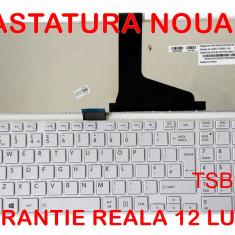 Tastatura laptop Toshiba Satellite C855 Alba NOUA - GARANTIE 12 LUNI! MONTAJ GRATUIT IN BUCURESTI!