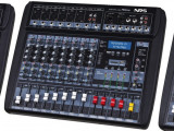 MIXER PROFESIONAL AMPLIFICAT PUTERE 760 W,8 CANALE, LCD,BLUETOOTH,MP3 USB,RADIO.