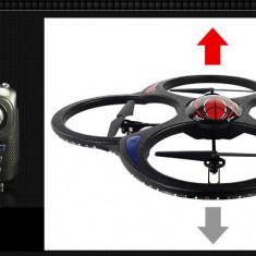ULTIMA DRONA APARUTA DE MARE DIMENSIUNE 60CM CU TELECOMANDA SI AFISAJ, TEHNOLOGIE 2, 4GHZ, LEDURI SENZATIONALE, MUFA PT.CAMERA VIDEO.
