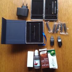 Kit tigara electronica 2 bucati Biansi 920 Automatic- Tabachera si arome CADOU