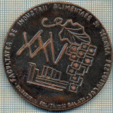 ATAM2001 MEDALIE 212 - XXV - FACULTATEA DE INDUSTRII ALIMENTARE SI TEHNICA PESCUITULUI -INSTITUTUL POLITEHNIC GALATI -starea care se vede - Medalii Romania