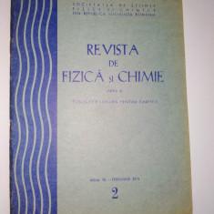 Revista de Fizica si Chimie ( seria B) feb. Nr. 2 / 1974 - Culegere Fizica