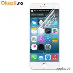 Folie iPhone 6 6S Transparenta - Folie de protectie Apple, Lucioasa