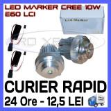 ANGEL EYES LED MARKER - E60, E61 LCI - 10W CREE High Power - ALB 6000K, Universal, ZDM