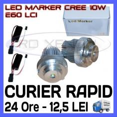 ANGEL EYES LED MARKER - E60, E61 LCI - 10W CREE High Power - ALB 6000K