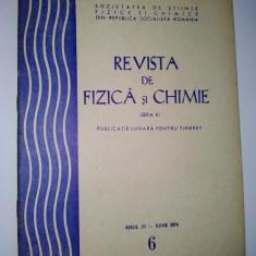 Revista de Fizica si Chimie ( seria B) iun. Nr. 6 / 1974 - Culegere Fizica
