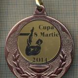 ATAM2001 MEDALIE 232 - SPORTIVA - CUPA 8 MARTIE 2014 -PANGLICA TRICOLORUL ROMANIEI-starea care se vede - Medalii Romania