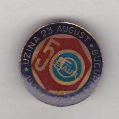 Bnk ins insigna Uzinele 23 August Bucuresti 50 ani 1921-1971