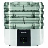 Deshidrator de alimente Zelmer FD1001, 520 W, 11 l, LCD, Alb