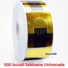 Sabloane constructie unghii false manichiura ROLA 500 - Model unghii