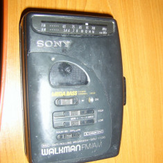 WALKMAN FM-AM, SONY WM FX26, AVLS, ANTI-ROLLING MECANISM . - Casetofon