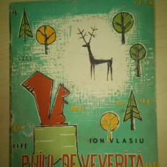 Puiul de veverita - Ion Vlasiu/ ilustratii de Popovici Constantin