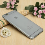 Husa iPhone 6 Plus 6S Plus Ultra Slim 0.2mm Mata White, Transparent, Gel TPU, Apple