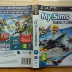 My Sims - Skyheroes (PS3) (ALVio) + sute de Jocuri PS3 Ea Games (VAND / SCHIMB), Simulatoare, 12+