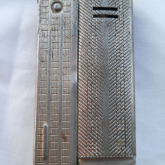 Veche Bricheta cu Benzina Streamline Austria IMCO Marcata si Inseriata 8800 - Bricheta Zippo