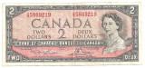 Canada 2 Dolari Dollars 1954 (1973-75) F