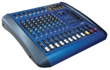 MIXER AUDIO PROFESIONAL AMPLIFICAT,PUTERE 760 WATT,EGALIZATOR,4 IESIRI,MP3 PLAYER STICK USB.