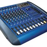 MIXER AUDIO PROFESIONAL AMPLIFICAT,PUTERE 760 WATT,EGALIZATOR,4 IESIRI,MP3 PLAYER STICK USB.