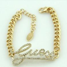 Bratara Fashion - GUESS - Culoare Auriu