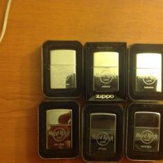 Brichete Zippo de colectie Hard Rock Cafe - Bricheta Zippo, Moderna (1970 -acum)