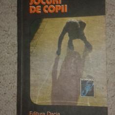 3 carti colectia Scorpion-O.Catina-Jocuri de copii;A.Radu-Adevarul despre Dora;L.Ardelean-Exercitiu de vacanta (aventura-mister etc)-B2301 - Carte de aventura