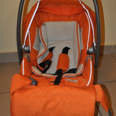 Peg Perego Pilko p3 3 in 1- carucior copii - Carucior copii 3 in 1 Peg Perego, 1-3 ani, Pliabil, Portocaliu