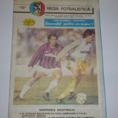 Program meci fotbal Sportul Studentesc Bucuresti - INTER Sibiu, iunie 1991