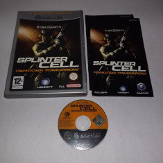 Joc consola Nintendo Gamecube - Splinter Cell Pandora Tomorrow - original Altele, Actiune, 12+, Single player