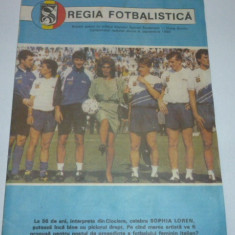 Program meci SPORTUL Studentesc Bucuresti-GLORIA Bistrita septembrie 1990
