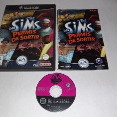 Joc consola Nintendo Gamecube - The Sims Bustin' Out - original Altele, Actiune, 3+, Single player
