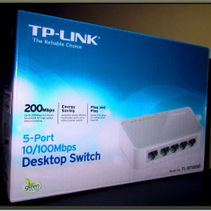 Switch Tp-link 200 Mbps, 5 - Port