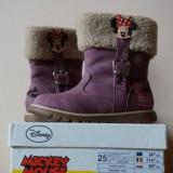 Vand Cizme Minnie Mouse Disney - Cizme copii, Marime: 25, Culoare: Mov, Fete, Mov