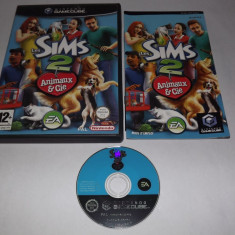 Joc consola Nintendo Gamecube - The Sims 2: Pets - original Altele, Actiune, 12+, Single player
