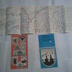 MUNTII CIBINULUI SI FAGARASULUI harta turistica