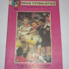Program meci fotbal Sportul Studentesc - DINAMO Bucuresti - octombrie 1990