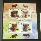 Colita uzata / stampilata - Natura - Pui de animale 2012 - 2+1 gratis toate produsele la pret fix - RBK6848 - Timbre Romania