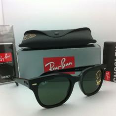 Ochelari Ray Ban Metor RB4168 601 Originali - Ochelari de soare Ray Ban, Unisex, Verde, Fluture, Plastic, Protectie UV 100%