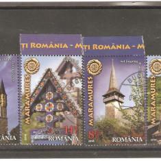 LP 2030 Maramures -stampilat 172 - Timbre Romania
