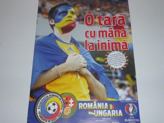 Program meci fotbal ROMANIA - UNGARIA 11.10.2014