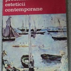 PROBLEMELE ESTETICII CONTEMPORANE-JEAN-MARIE GUYAU, BUCURESTI 1990 - Carte Istoria artei