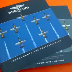 Breitling - catalog de prezentare 2012-2013 - Ceas barbatesc