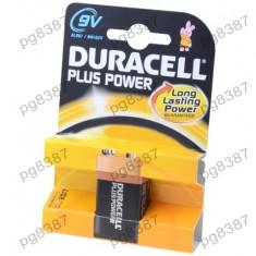 Baterie 6F22, R22, alkalina, 9V, Duracell-050056