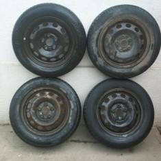 Set jante tabla R15 Vw Sharan, Ford Galaxy, Seat Alhambra 195.65 R15 - Janta tabla, Numar prezoane: 5